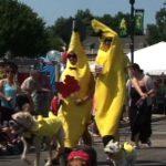 Banana's on parade