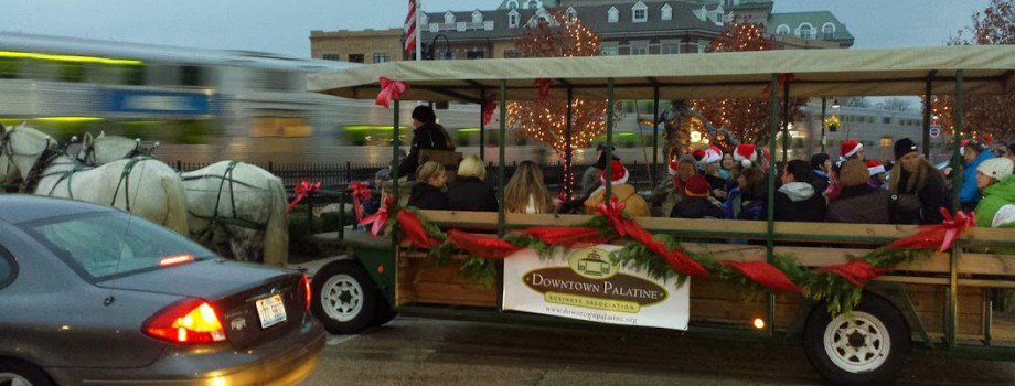 Come Ride the Trolly on Friday from 7:00 pm - 9:00 pm at Holidays on the Town