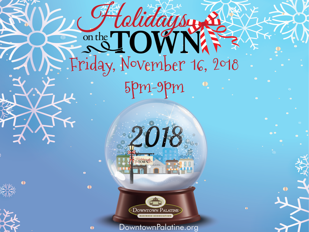 DPBA Holidays On The Town 2018 Snow Globe