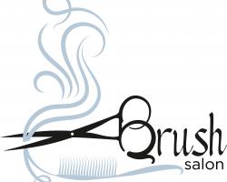 Brush Salon Logo