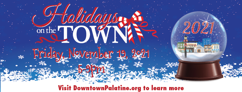 2021 Downtown Palatine Holidays on the Town